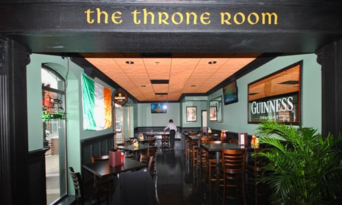 The Throne Room at Dublin Square Irish Pub and Eatery located in La Crosse, Wisconsin