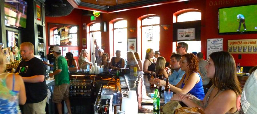 Dublin Square Irish Pub in La Crosse, Wisconsin